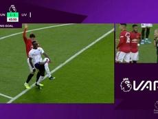 Goal annullato allo United. DAZN