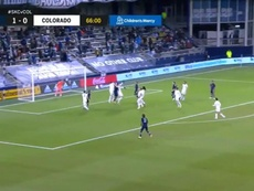 Fontàs scored for Sporting Kansas City. Screenshot/MLS