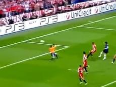 El Inter reconoció cuál fue el gol más importante de su historia. Captura/RTVE
