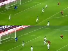 El 'Tigre' despierta: quinto gol en los últimos siete partidos de Falcao. Captura/beINSports