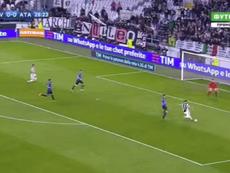 Exhibición de potencia de la Juventus. Captura/beINSports