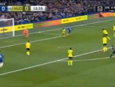 Primeiro gol do 'Pipita'. Captura/NBC