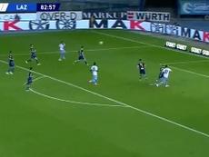 Immobile alcançou Lewandowski com um hat trick. Captura/beINSports