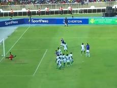 El Everton sucumbe en los penaltis. Captura/SportPesa