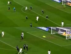 Fekir a marqué un bijou de but. Capture/beINSports
