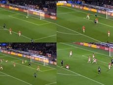 Nainggolan marcó lo que Icardi no pudo marcar. Captura/SportPremium
