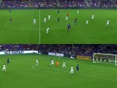 Nani marque le but le plus détesté à FIFA. Capture/MLS