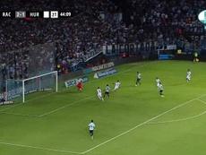 El central marcó el gol de la sentencia. Captura/FoxSports