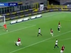 Çalhanoglu made it 2-0. Screenshot/Movistar+