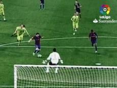 A key moment in Messi's wonderful career. Screenshot/LaLiga