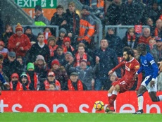 Salah a reçu le Puskas. LFC