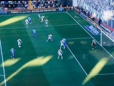 El gol de Griezmann llegó con polémica. Captura/beINSports