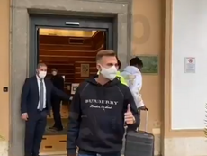 Mayoral is in Rome. Screenshot/TuttomercatoWEB