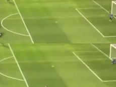 Les buts de Messi à l'échauffement. Capture/JuanNovaak