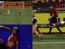 Josef se lesionó y De Boer aumentó la preocupación. Captura/MLS
