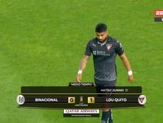 Sigue con nosotros la vuelta de la Copa Libertadores. Captura/ESPN