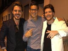 El jugador del Madrid asistió a un concierto de este grupo de música. Piso21
