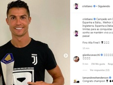 Cristiano presumió de conquistar media Europa. Instagram/CristianoRonaldo  Add video