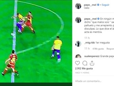 Pepe Mel cargó contra Saúl Ais Reig. Captura/Instagram/PepeMel