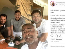 El brasileño estalló. Instagram/Romario