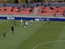 El Atlético Baleares perdió en su visita al Cerro del Espino. Captura/Footters