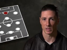 Fernando Torres has chosen his best XI amongst his teammates. Youtube/LiverpoolFC