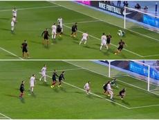 Croacia consiguió los tres puntos en el añadido. Captura/La1