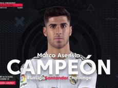 Marco Asensio fue el campeón. Twicht.tv/ibai
