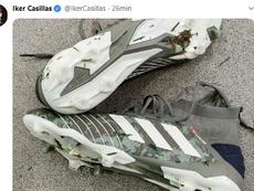 Iker Casillas rechausse les crampons, six mois plus tard. Twitter/IkerCasillas