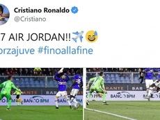 El día que el 'Bicho' aceptó un nuevo apodo. Twitter/Cristiano