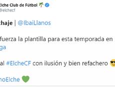 El Elche se lleva a Ibai, Captura/Twitter/ElcheCF