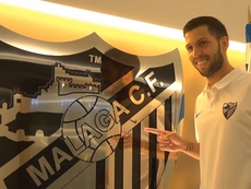 Pacheco is a Malaga player. MalagaCF