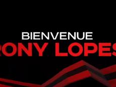 Rony Lopes prêté à Nice. Capture/OGNice