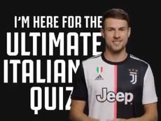 Le test particulier que la Juventus a fait passer à Aaron Ramsey. Twitter/juventusfc