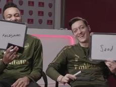 A premonição de Özil. Twitter