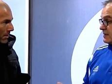 Zidane fue a ver a Bielsa, y recibió una lección que a buen seguro aprovechó. Twitter