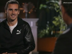 Griezmann has given an interview. Screenshot/Vamos
