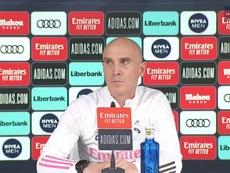 Bettoni falou sobre o estado de Zidane. Twitter/realmadrid