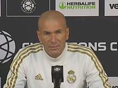 Zidane respondió a las preguntas de la prensa antes de medirse al Arsenal. RMTV