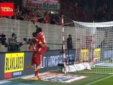 El Union Berlin le endosó un 4-0 al Mainz 05. Captura/FOXSports