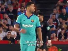 Suárez volvió a pagar sus frustraciones con el colegiado. Movistar+
