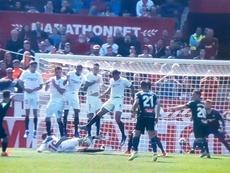 Embarba explicó cómo se gestó su gol al Sevilla. Movistar+