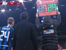 Eriksen ha debuttato con l'Inter. DAZN