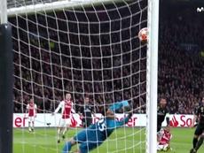 Tadic se topó con la madera y el Madrid se salvó del 1-0. Movistar+