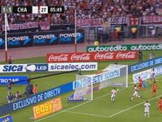 Increíble, pero cierto: Matías Rodríguez falló ese gol cantado. TyCSports