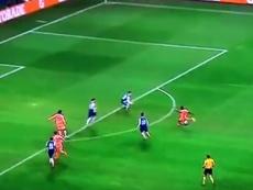 Mané logró anotar tres de los cinco goles. beINSports