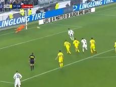 Sorrentino evitó el 3-0 parando un penalti a Cristiano. TLNTV