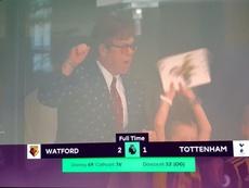 El Watford saca el lado más 'hooligan' de Elton John. SkySports