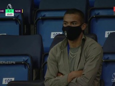 Ziyech was at the Chelsea match. ESPN