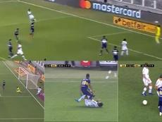 El sueño de Boca finalizó en siete minutos. Captura/ESPN